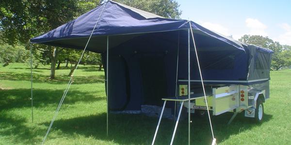 Mackay Trailers Aluminium Camper Trailer Range